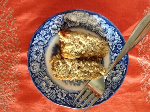 cara cara orange- earl grey tea cake