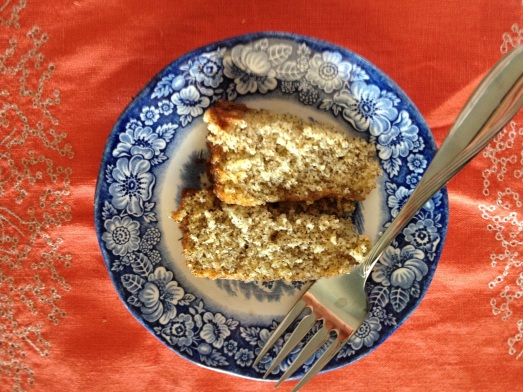 cara cara orange- earl grey tea cake