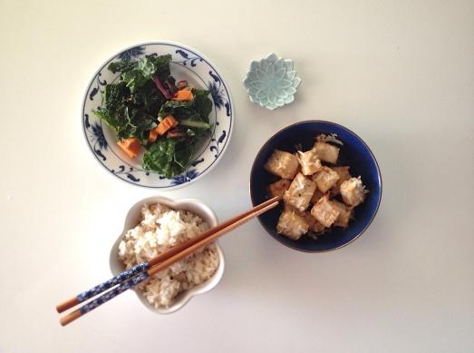 coconut tofu