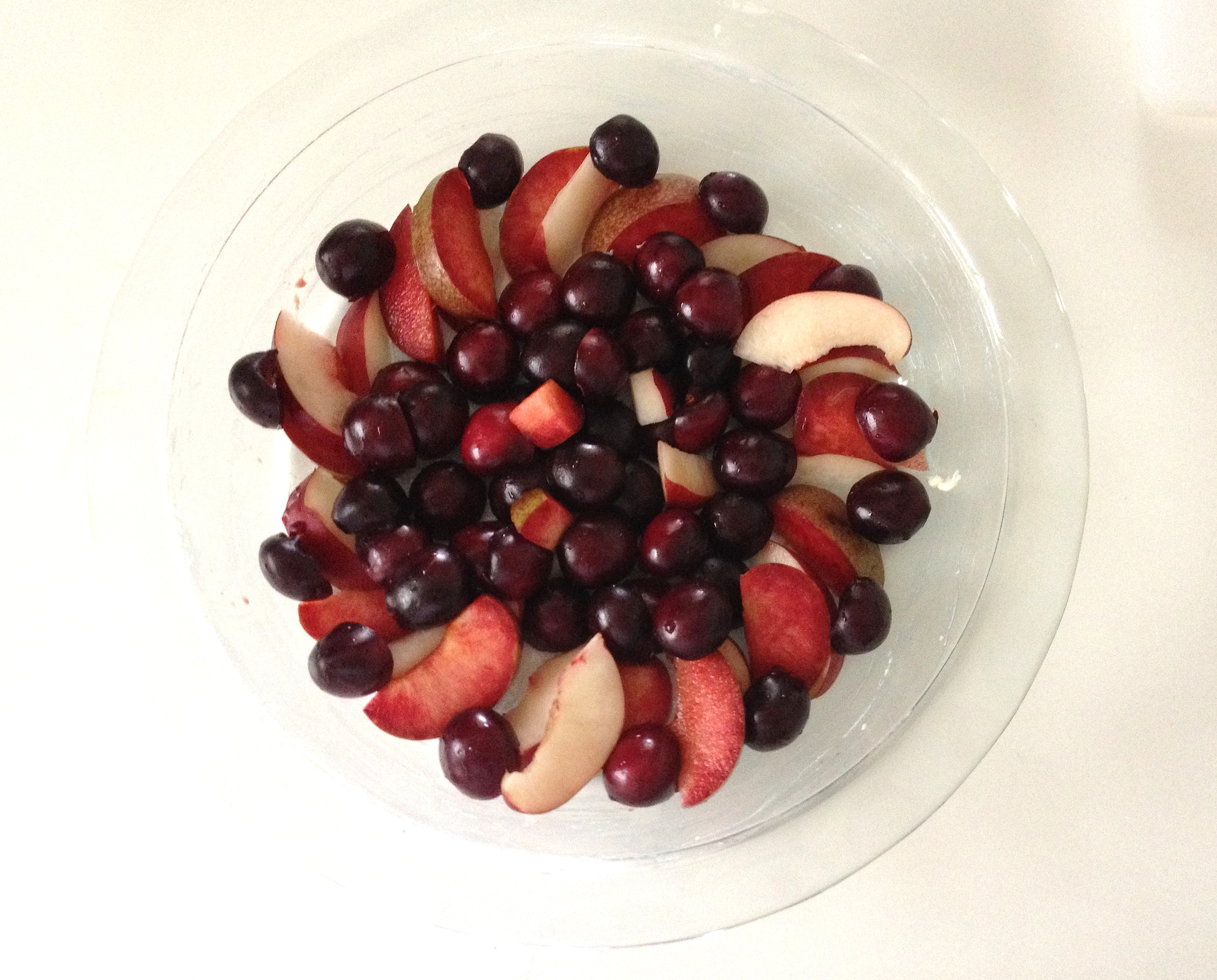 cools fruit fruit plate