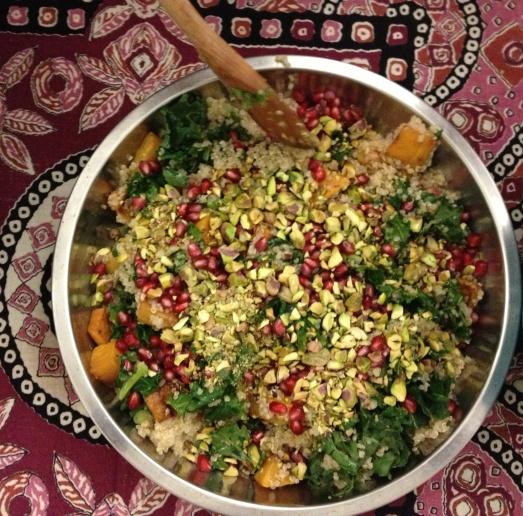 quinoa butternut salad
