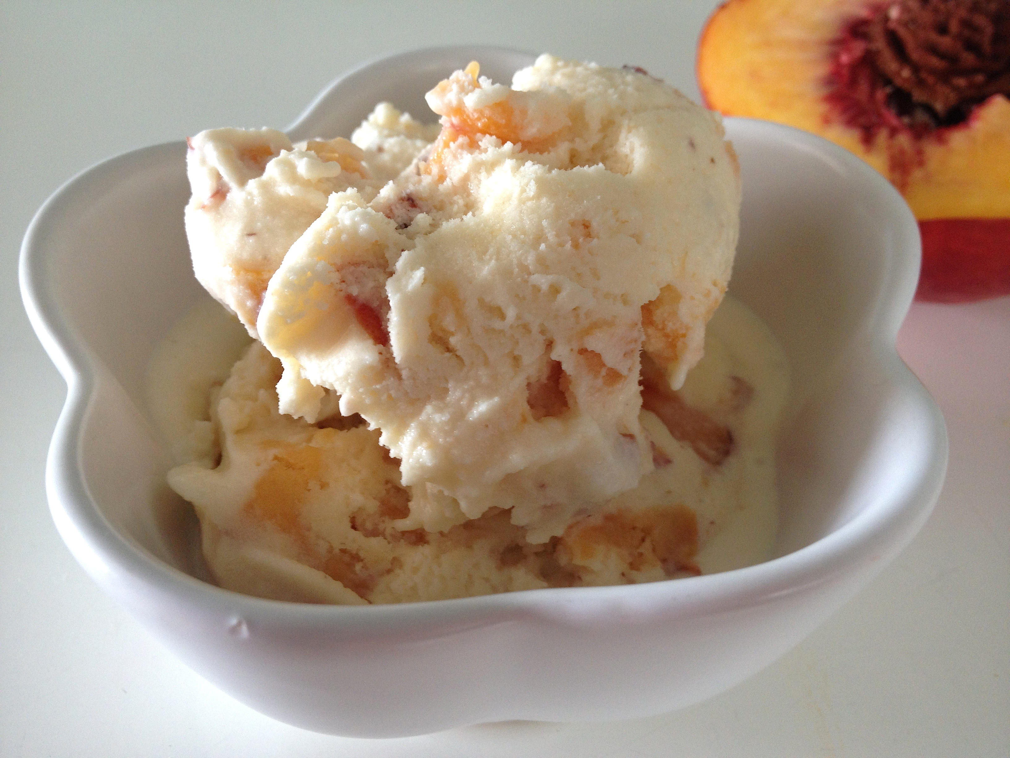 Auntie Number One's Fresh Peach Ice Cream and the Peaches of Summer ...