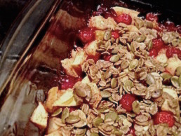 Spiced Cranberry Apple Crisp, Thanksgiving Dessert with a Twist ...