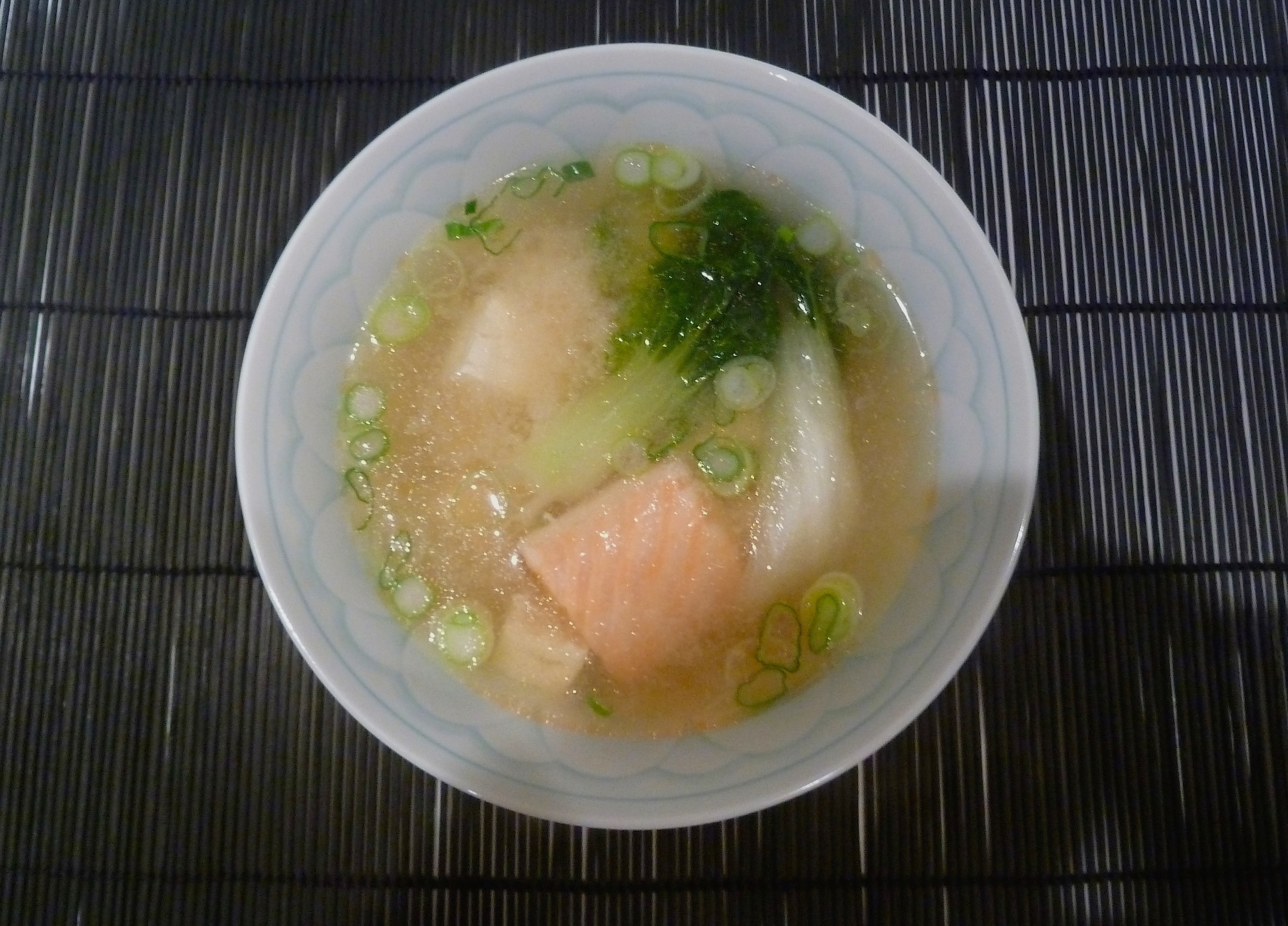 salmon miso soup, a one bowl meal for winter | spicebox travels