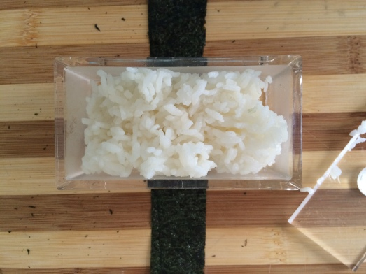 filling rice press