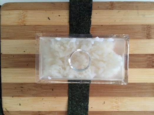 pressing rice