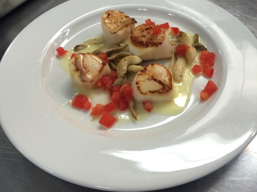 scallops beurre blanc