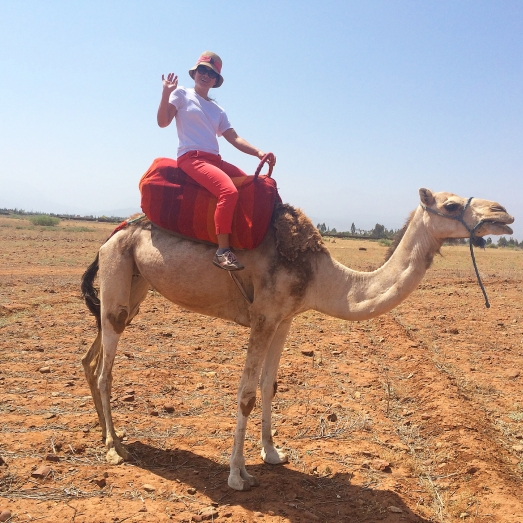 linda on camel